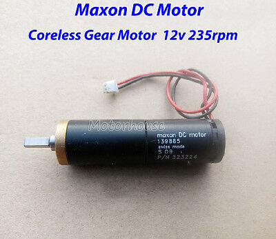 Maxon 139885 Mini Coreless Gear Servo Motor DC 12V Strong Magnetic for Robot
