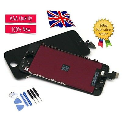 For Black iPhone 5 Screen Replacement Glass LCD Touch Display Digitizer Assembly