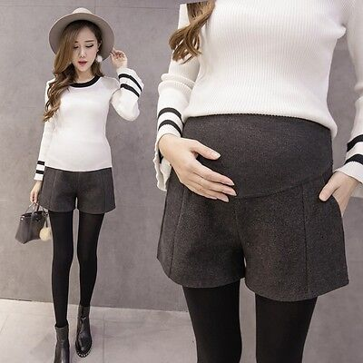 Newly Pregnant Women Shorts Maternity Slim Fitting Care Belly Winter Short Pants