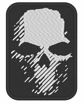"""Cosplay Airsoft Game Embroidered Inspired By """"ghost Recon Wildlands Logo"""" Clancy"""