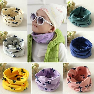Cotton Winter Child Kids Baby Boy Girl Neck Warmer Round Short Scarf Neckerchief