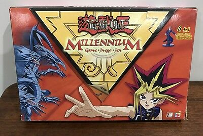 Yu Gi Oh Yugioh Millennium Board Game 100% Complete Very Rare Good Condition