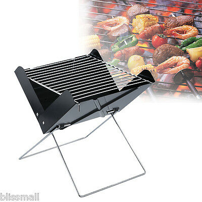 Portable Folding Charcoal Barbecue Grill Outdoor Camping Garden BBQ Grill Heater