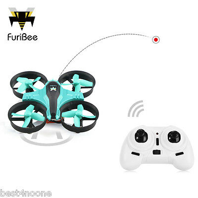 FuriBee F36 Mini RC Quadcopter 2.4GHz 4CH 6 Axis Gyro Headless Speed Switch new