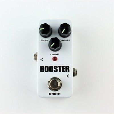 FBS-2 Mini Overdrive Guitar Effect Pedal Guitar Two Segment EQ Effect Device BY