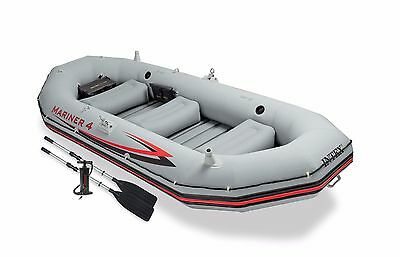 Intex Mariner 4 includes pump and oars. Intex 68376 4 person capacity- New