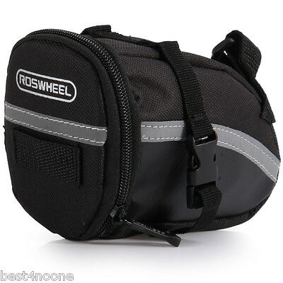 Roswheel Outdoor Cycling Bike Saddle Bag Seat Tail Pouch with Velcro New