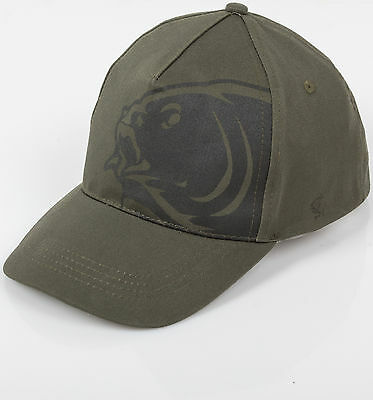 Nash Carp Fishing Bank Green Edition Hat Baseball Cap W/ Logo One-Size