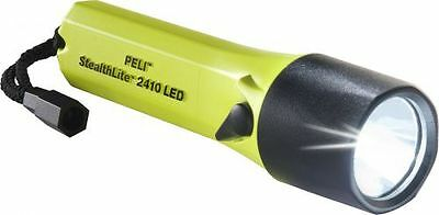PELI 2410 Z0 Stealthlite LED, ATEX 2015, Zone 0, Gelb