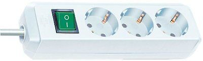 Brennenstuhl 1152920 Eco-Line extension socket with switch 3-way 5m H05VV-F