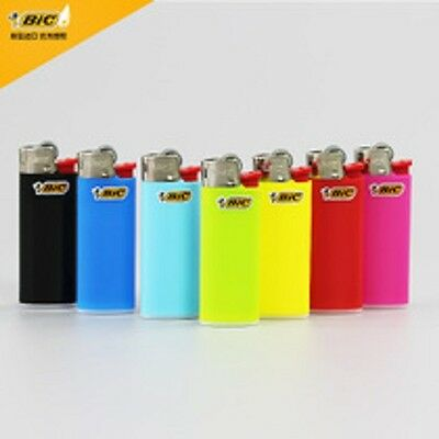 1| 6 Mini | MICRO BIC Lighters - ALL Different Colours LONG LIFE USE FAST SERVIC
