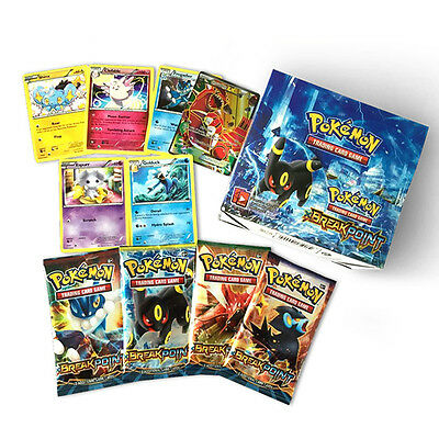324Pcs Set XY Version Cartoon Category Cards Card Gifts For Kids Fans game