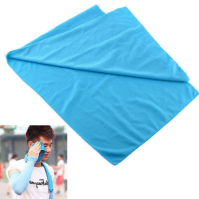Exercise Summer Ice Cold Cool Towel Reuseable Jogging Sports Golf Fitness