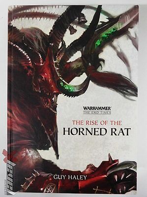 The Rise of the Horned Rat – Hard Cover Novel [x1] Books [Warhammer ] Very Good