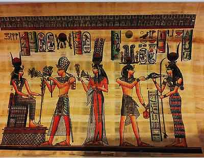 Egyptian Papyrus Paintings Picture Art Hand Painted Made in Egypt  # 4