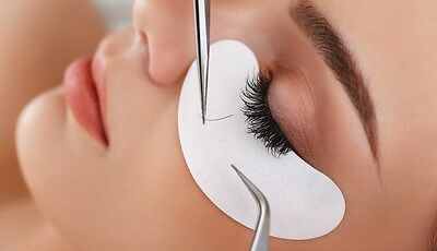 Under Eye Lint Free Gel Pads for Eyelash Extensions  Lash Patches #UK#