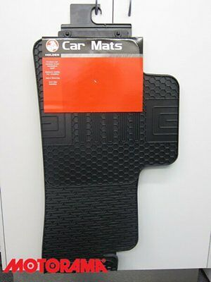 Genuine GM Holden Rubber Rear Floor Mat Suit VE Commodore Sdn & Wgn NEW 92292694