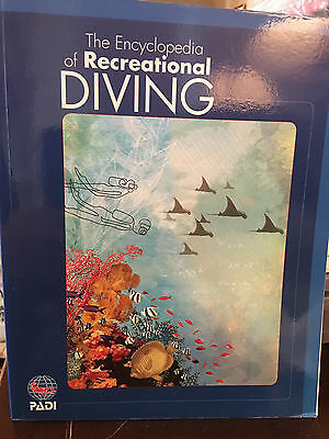Encyclopedia Of Recreational Diving- Soft Cover 2006 by Padi