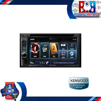 "Kenwood Dnx4150dab 6.2"" Navigation Wireless Mirroring Hdmi Bluetooth Ipod Dab+"