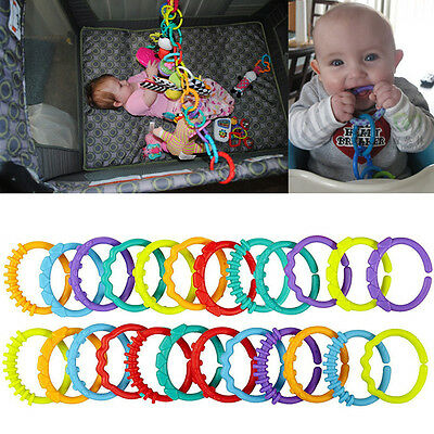 24 pcs Infants Baby Chewable Toothbrush Teether Teether Teething Ring Mouth Toy