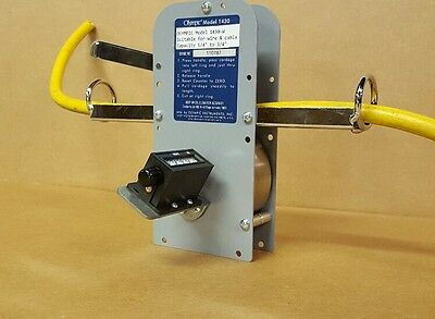 All New Hykon Olympic 1430W Cable Wire Tubing Meter Counter Measurer