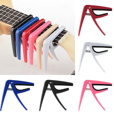 Hot Quick Change Trigger Capo Key Clamp for Acoustic Electric Guitar Ukulele W
