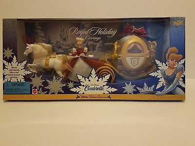 Cinderella Barbie Royal Holiday Carriage Disney Holiday Collection
