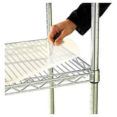 Shelf Liners for Wire Shelving Alera 36 x 18 Inch Clear Plastic Pack of 4 Pieces