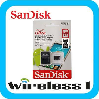 SanDisk 128GB Ultra Micro SD 80Mb/s [Au Stock]