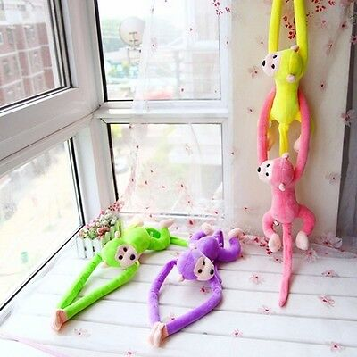 Long Arm Tail Monkey Doll Windom Curtain Car Decoration Valentine's Day Gift