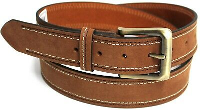 New Genuine Full Grain Leather Quality Men's Belt Australian Seller. 41020 35mm.