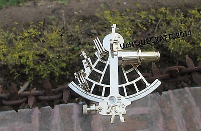 Brass Nautical Vintage Sextant Maritime Astrolabe Ship Instrument Xmas Gift Item
