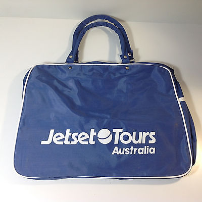 Vintage Jetset Tours Travel Bag