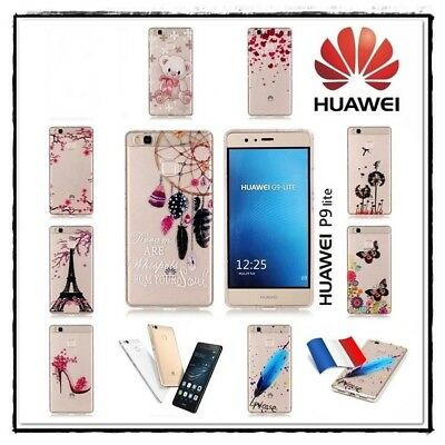 Etui housse coque transparente silicone Case Cover Soft Gel TPU Huawei P9 lite
