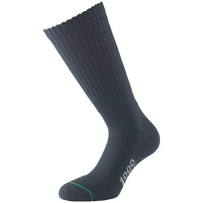 1000 Mile Diabetic Mens Walking Circulation Socks Sport Fitness Tactel Black