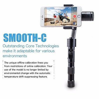 """Zhiyun Z1-Smooth-C+ 3Axis Joystick Handheld Gimbal Stabilizer for 7"""" Cellphone"""