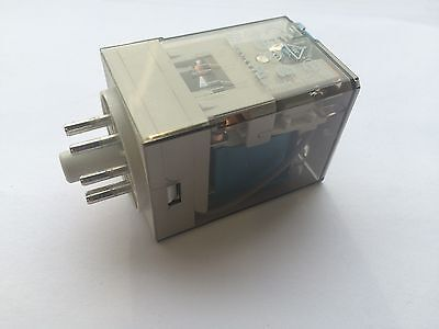 FINDER (Pack of 10) General Purpose Relay, 60 Series,DPDT, 24 V DC,10A 8 Pin