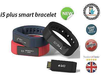 New I5 Plus smart watch bracelet Touch Bluetooth Waterproof ReminderTrackerSport