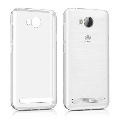 Tpu Silicone Crystal Case For Huawei Y3 Ii (2016) Transparent Soft Cover Silicon