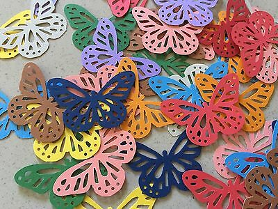 Martha Stewart Butterfly Punch Scrapbooking 40 Pcs Colourful Cardstock Confetti