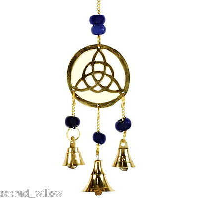 Three Bell Triquetra Wind Chime Windchime Feng Shui Bell Sun Catcher