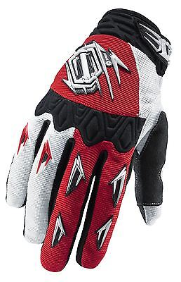 Shift Strike Motocross Gloves Solid Red Large MX Enduro Off-Road MTB DH