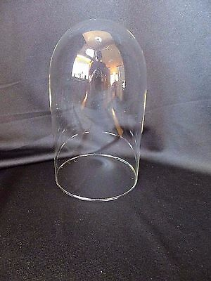 """8"""" Glass Dome for Anniversary Clock,  Doll or Taxidermy"""