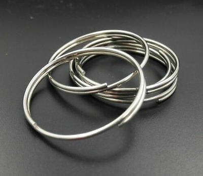 Circle Chain Ring Round Stainless Steel Diameter 3.2cm Bulk Sale