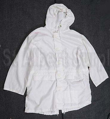 Canadian Army Winter White Camo Camouflage Coat - Size 6744 - 417Sx
