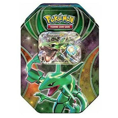 Pokemon TCG Powers Beyond Fall Tin Rauquaza - EX BRAND NEW & SEALED