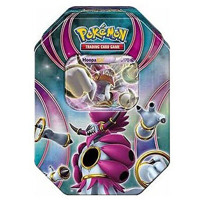 Pokemon TCG Powers Beyond Fall Tin Hoopa - EX BRAND NEW & SEALED