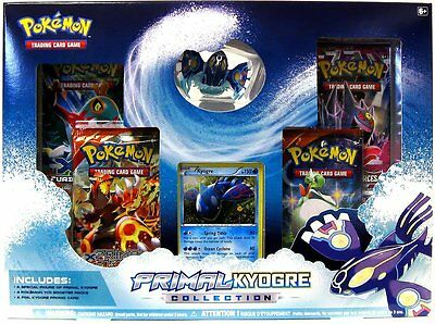 Pokemon Primal Kyogre EX Collection Box - Brand new and Sealed