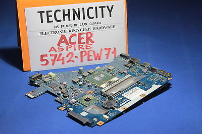 ACER ASPIRE 5742 - PEW71 - MAINBOARD WITH CPU INTEL i3 380M     - TESTED