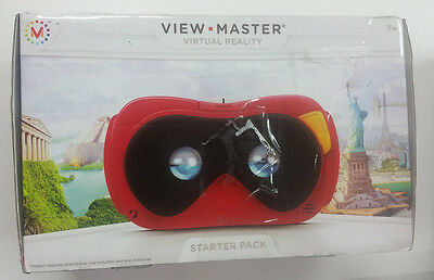 Mattel View-Master Virtual Reality Starter Pack Red/Black/White- DLL68 (Ages 7+)